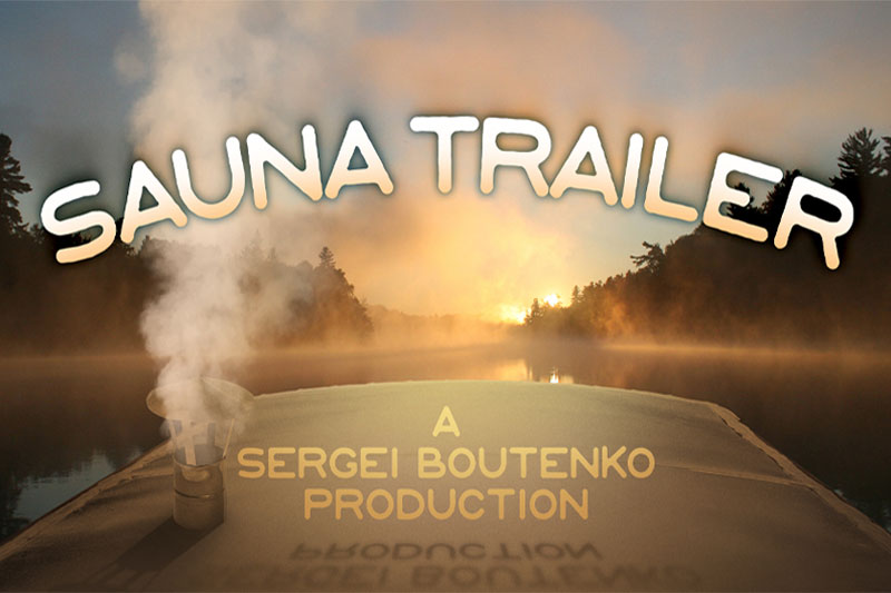 Sauna Trailer Movie & eBook